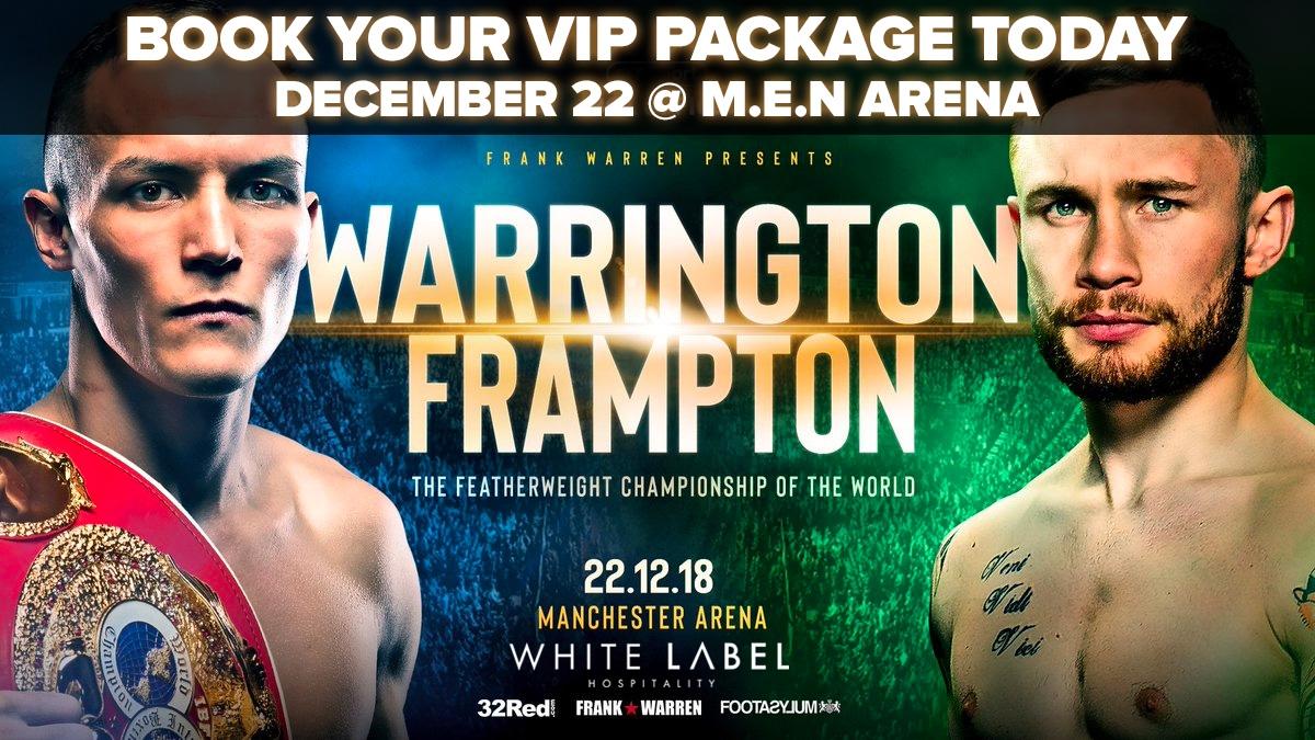 Frampton vs. Warrington Tickets Only